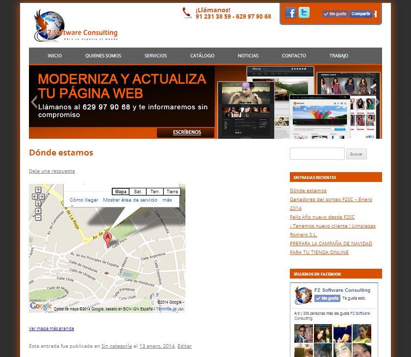 Paso 5 Poner un mapa de Google en mi web