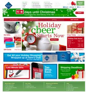 web muy navideño