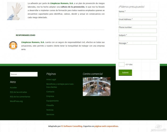 2015-12-29_13-56_Pantallazo web_Limpiezas Romero 2