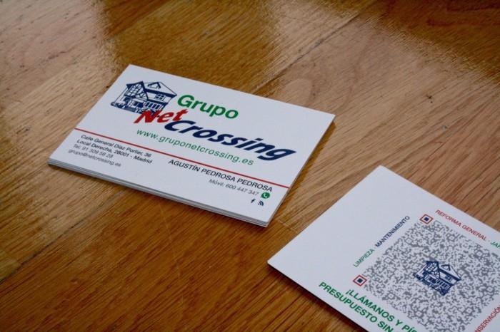 Fotografías de tarjetas de visita Grupo Netcrossing 3