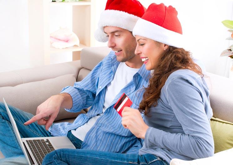 Diseño web para vender en Navidad